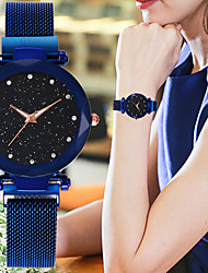 cheap -Women's Quartz Watches Casual Fashion Astronomical Black Blue Red Alloy Chinese Quartz Red Purple Rose Gold New Design Casual Watch 1 pc Analog One Year Battery Life / SSUO 377