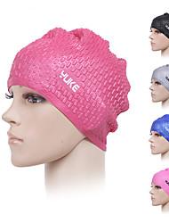 abordables -Bonnets de Bain pour Adultes Silicone Extensible Confortable Durable Natation