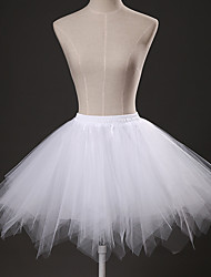 cheap -Ballet Classic Lolita 1950s Dress Petticoat Hoop Skirt Tutu Crinoline Women's Girls' Tulle Costume Black / White / Sky Blue Vintage Cosplay Party Performance Princess