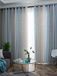 cheap -Neoclassical Privacy One Panel Curtain Bedroom   Curtains