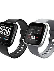 Недорогие -KUPENG H108 Универсальные Умный браслет Android iOS Bluetooth Smart Спорт Водонепроницаемый Пульсомер Измерение кровяного давления / Секундомер / Датчик для отслеживания сна / Найти мое устройство