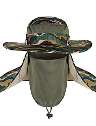 cheap -TCAHCC Hiking Hat Flap Hat Hiking Cap Fishing Cap Hat Camo UV Resistant Breathable UV 360° Solar Protection Spring Summer Removable Neck & Face Flap Cover Caps Camping Hiking Hunting Fishing