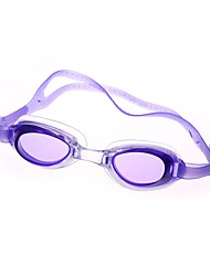 cheap -Swimming Goggles Waterproof Swimming Goggles Anti-Fog Swimming Mixed Materials PC Grays Blues Light Blue Transparent