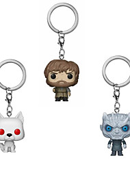 cheap -Game of Thrones Bag / Phone / Keychain Charm Tyrion Lannister Direwolf Others Cute / Creative / Cartoon Toy PVC(PolyVinyl Chloride) Universal