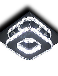 cheap -21 cm (8 inch) Bulb Included / LED Flush Mount Lights Metal Electroplated Modern Contemporary 110-120V / 220-240V
