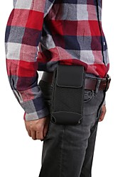 cheap -5.5/6.9 inch Case For Universal Card Holder Waist Bag / Waistpack Solid Colored Hard Oxford Cloth