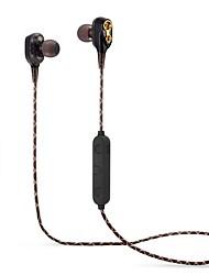 cheap -LITBest M18 Neckband Headphone Wireless Bluetooth 4.2 with Volume Control Sport Fitness
