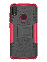 cheap -Case For Huawei Huawei P Smart 2019 / Huawei Y9 (2018)(Enjoy 8 Plus) / Huawei Y7 Pro(2019) Shockproof / with Stand Back Cover Armor Hard PC