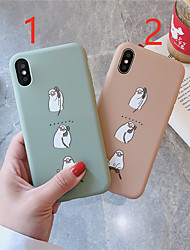 cheap -Case For Hot model Apple iPhone XR / iPhone XS Max Pattern Back Cover Animal Soft TPU for iPhone 6  6 Plus  6s 6s plus 7 8 7 plus 8 plus X XS XR XS MAX