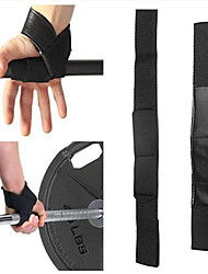 cheap -Hand & Wrist Brace for Exercise & Fitness Non Slip Washable Protection PU Leather Rubber 1 set Sports Black