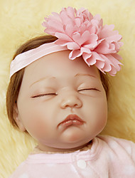 cheap -NPKCOLLECTION NPK DOLL Reborn Doll Baby 24 inch Silicone Vinyl - Newborn lifelike Eco-friendly Gift Hand Made Child Safe Kid's Girls' Toy Gift / Natural Skin Tone / Tipped and Sealed Nails