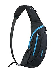 cheap -Naturehike Hiking Backpack Cycling Backpack Shoulder Messenger Bag 15 L for Camping / Hiking Climbing Leisure Sports Beach Sports Bag Multifunctional Waterproof Rain Waterproof Mesh Nylon Waterproof
