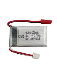 cheap -MJX MJX X401H X402 7.4V 350mAh 1pc Battery