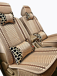 cheap -Car Seat Covers Headrest & Waist Cushion Kits Beige / Coffee / Black / Red synthetic fibre / Polyester Fabric Common For universal All years General Motors