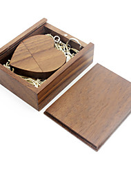 cheap -Ants 64GB usb flash drive usb disk USB 2.0 Wooden / Bamboo love wooden gift box
