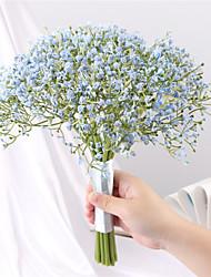 cheap -Artificial Flower Plastic European Bouquet Tabletop Flower Bouquet 16