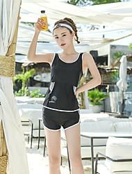 abordables -SEA BBOT Femme Tankini Maillots de Bain Protection solaire UV Sans Manches Plongée Mosaïque Eté