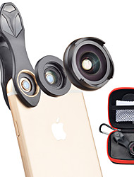 cheap -Mobile Phone Lens Wide-Angle Lens / Macro Lens Glasses / Aluminium Alloy 10X Macro 35 mm 10 m 110 ° Cute / Cool