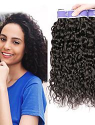 cheap -3 Bundles Malaysian Hair kinky Straight Remy Human Hair 100% Remy Hair Weave Bundles Natural Color Hair Weaves / Hair Bulk Extension Bundle Hair 8-28 inch Natural Color Human Hair Weaves Valentine