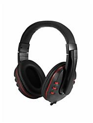 cheap -litbest headphones&headset wired headphones headphone abs resin gaming earphone with volume control headset