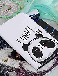 cheap -Case For Amazon Kindle PaperWhite 2(2nd Generation, 2013 Release) / Kindle PaperWhite 3(3th Generation, 2015 Release) / Kindle PaperWhite 4 Wallet / Card Holder / with Stand Full Body Cases Panda Hard