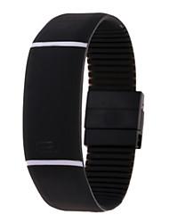 Недорогие -Жен. электронные часы На открытом воздухе Мода Черный Красный Розовый Plastic Китайский Цифровой Розовый Лиловый Желтый Повседневные часы Cool Цифровой