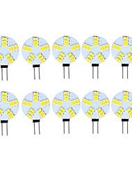 cheap -10pcs 3 W LED Bi-pin Lights 290 lm G4 15 LED Beads SMD 5730 Decorative Warm White Cold White 12 V