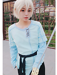 cheap -Inspired by SAO Swords Art Online SAO Alicization Cosplay Kirigaya Kazuto Anime Cosplay Costumes Japanese Cosplay Tops / Bottoms Anime Long Sleeve Belt T-shirt For Unisex