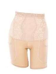 cheap -Women's Normal Seamless Panties / Shaping Panties - Print, Solid Colored High Waist Black Camel XL XXL