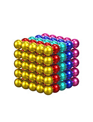 cheap -125 pcs Magnet Toy Magnetic Tiles Metal Simple Ball Teenager All Toy Gift