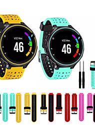 cheap -Watch Band for Forerunner 735 / Forerunner 630 / Forerunner 620 Garmin Sport Band / DIY Tools Silicone Wrist Strap