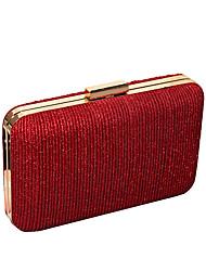 cheap -Women's Glitter Alloy Evening Bag Purple / Red / Blushing Pink