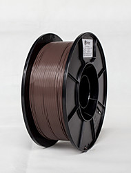 cheap -Brown Color 1.75mm PLA Material 1kg