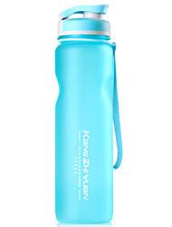 Недорогие -Бутылки для воды 1000 ml PP С защитным покрытием Прочный для Отдых и Туризм Велосипедный спорт / Велоспорт Походы Оранжевый Синий Розовый