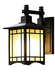 cheap -QINGMING® Waterproof / Mini Style Retro / Country Flush Mount wall Lights / Outdoor Wall Lights Outdoor / Garden Metal Wall Light IP65 110-120V / 220-240V 60 W