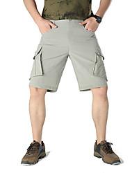 cheap -Men's Hiking Shorts Hiking Cargo Shorts Outdoor Breathable Ventilation Quick Dry Stretchy Shorts Bottoms Camping / Hiking / Caving Traveling Black Dark Grey Light Grey M L XL XXL XXXL