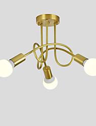 cheap -OYLYW 3-Light 50 cm New Design Chandelier Copper Sputnik Brass Nature Inspired / Modern 110-120V / 220-240V / E26 / E27