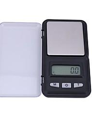 abordables -100g/0.01g Haute Définition Portable Arrêt automatique Échelle de bijoux numérique Pour bureau & enseignement La vie à la maison Cuisine quotidienne