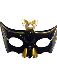 cheap -Cosplay Costume Mask Halloween Mask Inspired by Bat Golden Silver Cosplay Halloween Halloween Carnival Masquerade Adults' Men's Women's