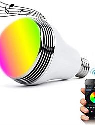cheap -1pc 12 W LED Smart Bulbs 700 lm E26 / E27 24 LED Beads SMD 5050 APP Control Bluetooth Party RGBW 100-240 V