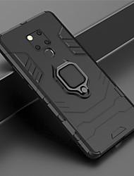cheap -Phone Case For Huawei Full Body Case Huawei Mate 20 lite Huawei Mate 20 pro Huawei Mate 20 Huawei Mate 20X Ring Holder Armor Armor Hard PC