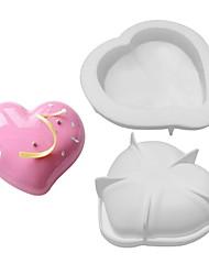 Недорогие -1шт Десертные инструменты Силикон Формы для пирожных Для приготовления пищи Посуда