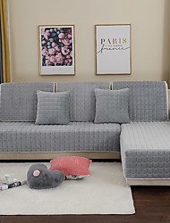 cheap -Sofa Cushion Solid Colored / Contemporary Quilted Wool Flannel Slipcovers
