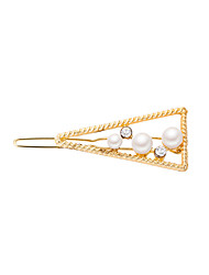 cheap -Women's Active Fashion Cute Imitation Pearl Cubic Zirconia Alloy Solid Colored