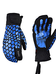 cheap -Ski Gloves Men's Women's Snowsports Full Finger Gloves Winter Waterproof Breathable Warm Silicon Snowsports Winter Sports