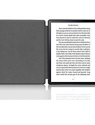 cheap -Case For Amazon Kindle Lite(2019) / Kindle PaperWhite 4 / Kobo Forma Shockproof / Flip / Origami Full Body Cases Solid Colored Hard PU Leather