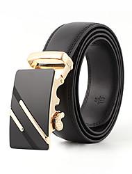 cheap -Men's Work / Active Skinny Belt - Solid Colored / Vintage