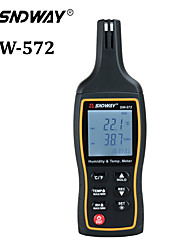 cheap -SW572 Handheld Digital Thermometer Hygrometer Temperature Humidity Meter With Backlight