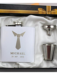 cheap -Personalized Stainless steel Barware & Flasks Groom / Groomsman Wedding / Wedding Party