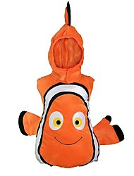cheap -Cosplay Cosplay Costume Kid's Boys' Cosplay Halloween Christmas Halloween Children's Day Festival / Holiday Polyster Orange Carnival Costumes Fish